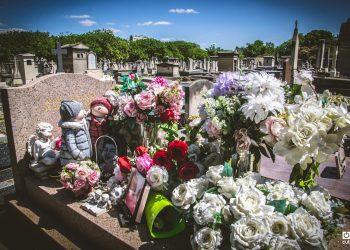 El Cementerio de Montparnasse alberga hoy unas 35 000 tumbas.