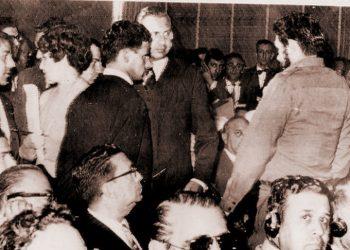Che Guevara en Punta del Este, 1961.