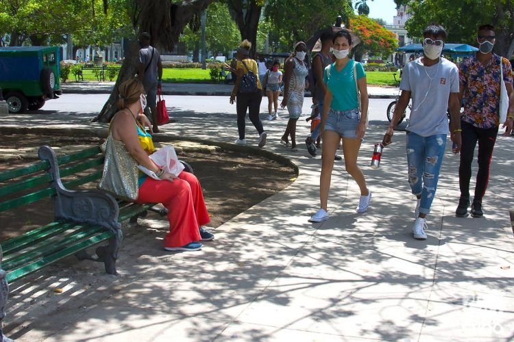 La Habana en la primera fase de la recuperación post COVID-19. Foto: Otmaro Rodríguez.