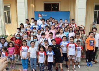 Foto: Asociación de Cubanos Residentes en China/ Facebook.