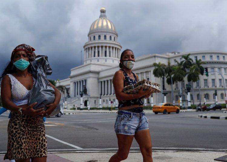 personas en La Habana, coronavirus, julio 2020