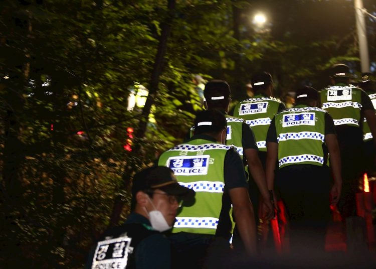 Park Won-soon había desaparecido el jueves luego de dejar un mensaje. Foto: EFE/EPA/KIM CHUL-SOO