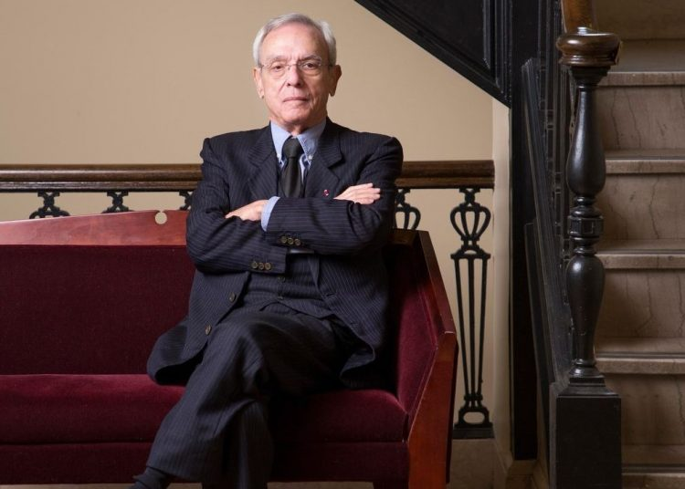 El Dr. Eusebio Leal. Foto: Kevin J. Miyazaki / Redux.