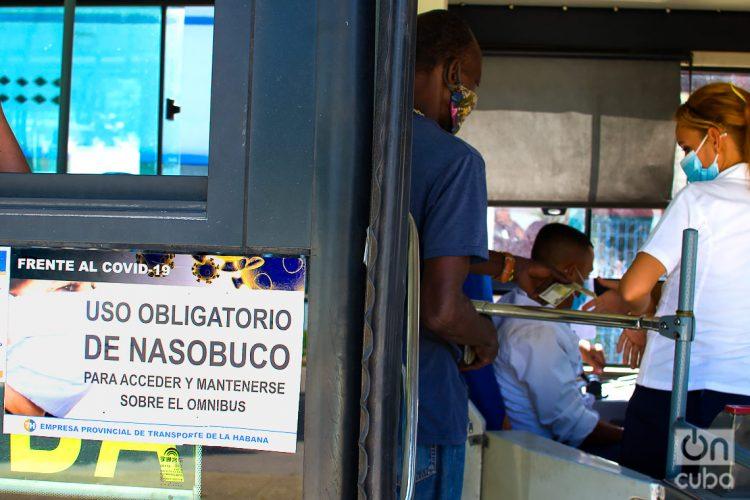 Los ómnibus tienen normas para transportar pasajeros. Foto: Otmaro Rodríguez