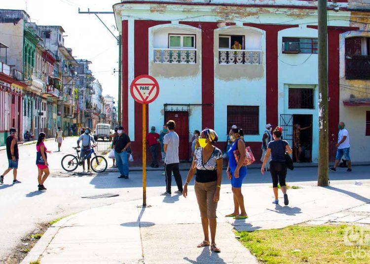 Cuatro personas de los siete positivos de hoy adquirieron el virus Sars Cov-2 en México y Nicaragua. El resto fueron reportados desde La Habana, en los municipios de Cerro, Centro Habana y Habana del Este. Foto: Otmaro Rodríguez