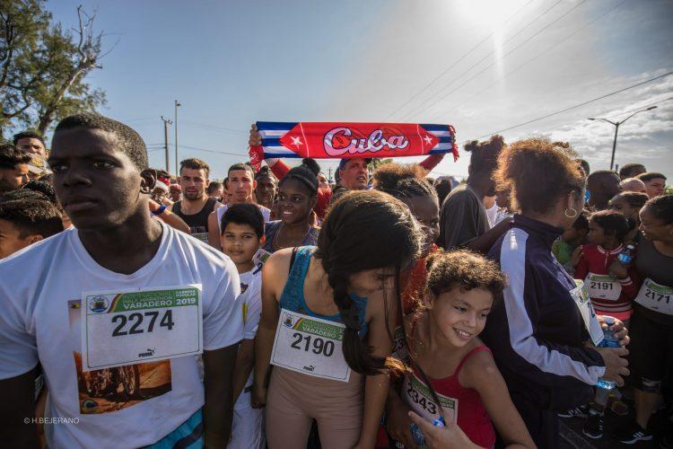 Media maratón de Varadero de 2019. Foto: sitio oficial del evento.