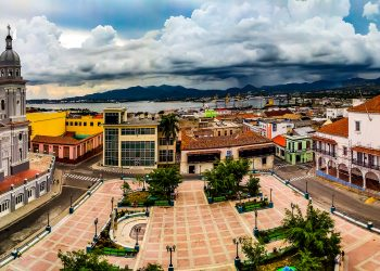 Vista panorámica de la ciudad desde el Parque Céspedes. Foto: Rubén Aja