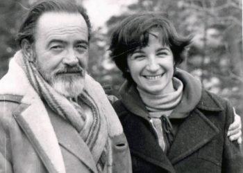 Eliseo y Fefé, Río Moscú, 1981. Foto: Leon Schleiffer.