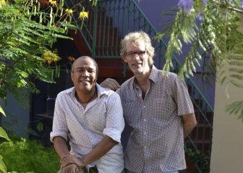 Rubén Darío Salazar y Zenén Calero. Foto: facebook.com/abel.gonzalezmelo