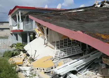 El terremoto de 5.9 grados que sacudió a a Puerto Rico en enero de 2020. Foto: Noticias NY1.