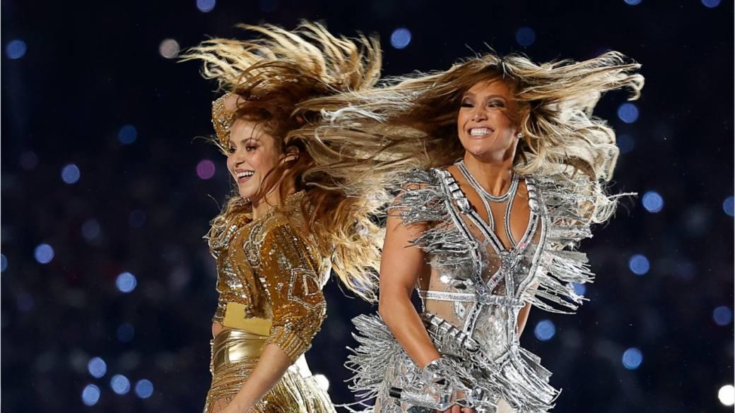 El espectáculo de Shakira y JLO recibió cuatro nominaciones Emmy