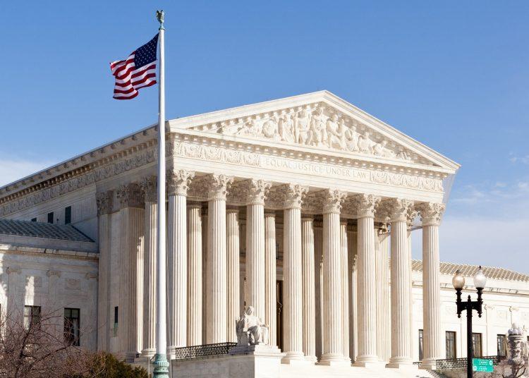 Edificio de la Corte Suprema de Estados Unidos, en Washington DC. Fotp: Paficic Legal Foundation.