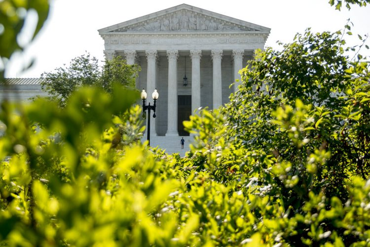 La Corte Suprema en Washington, 8 de julio de 2020. Foto: AP/Andrew Harnik.