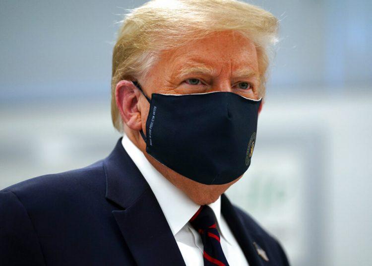 El presidente Donald Trump en un evento en Morrisville, Carolina del Norte, el 27 de julio del 2020. Foto: AP/Evan Vucci.