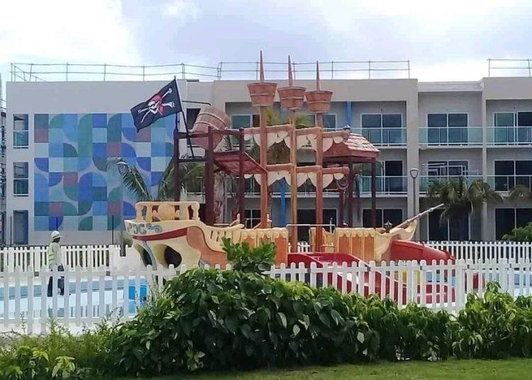 El hotel Almirante. Foto: Radio Angulo.