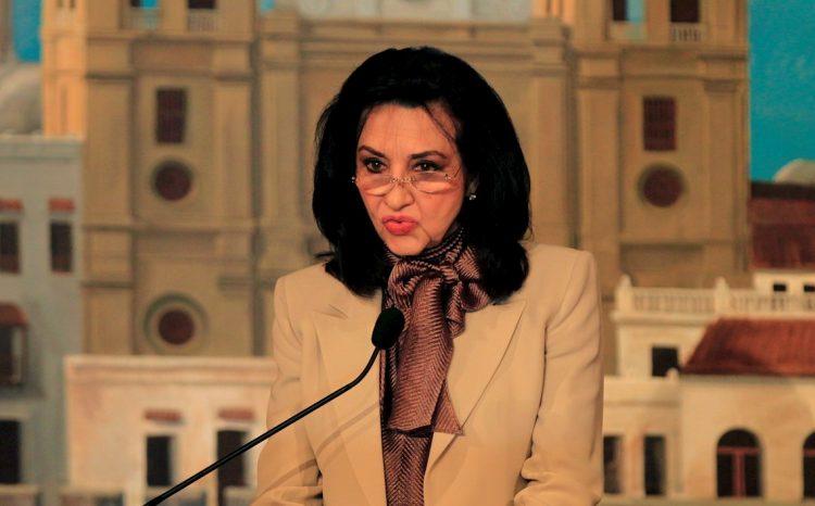 La ministra de relaciones exteriores de Colombia, Claudia Blum. Foto: Ricardo Maldonado Rozo / EFE / Archivo.