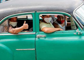 Los contagios reportados hoy: 5 de La Habana, 1 de Mayabeque y uno de Las Tunas; este caso adquirió la enfermedad en el extranjero. Foto: Ernesto Mastrascusa/EFE