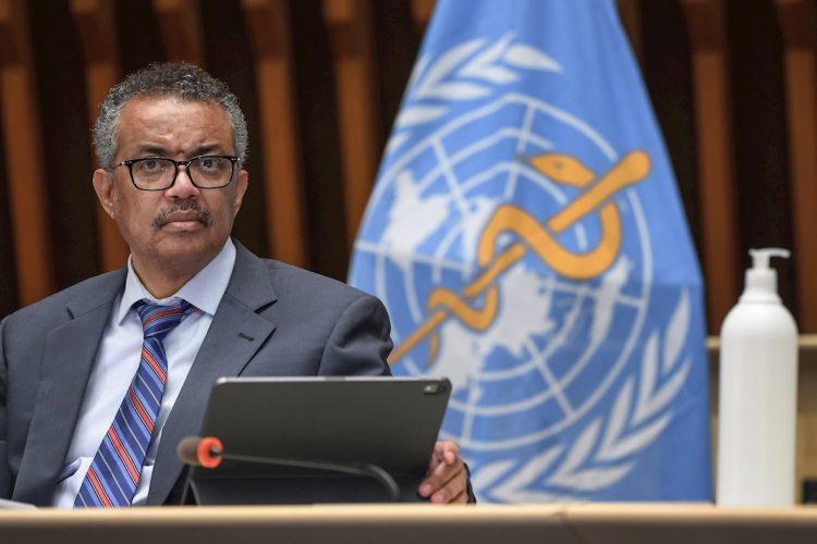 El director general de la Organización Mundial de la Salud (OMS), Tedros Adhanom. Foto:  FABRICE COFFRINI/EFE/EPA/Archivo.