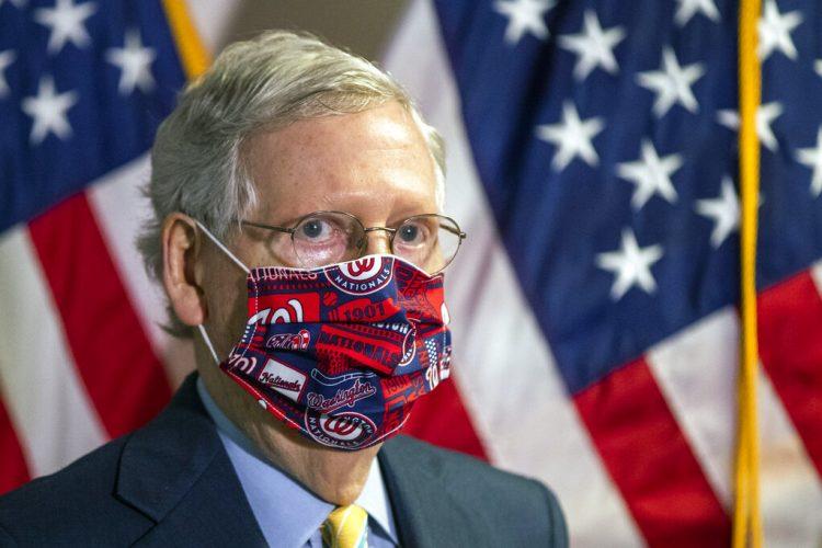 El líder de la mayoría en el Senado, el republicano de Kentucky Mitch McConnell. Foto: Manuel Balce Ceneta / AP / Archivo.