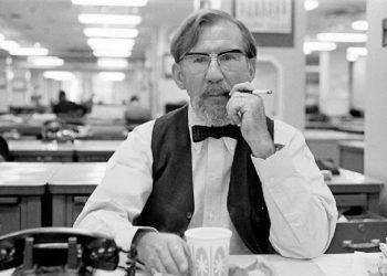 Alden Whitman, escritor de obituarios en The New York Times.