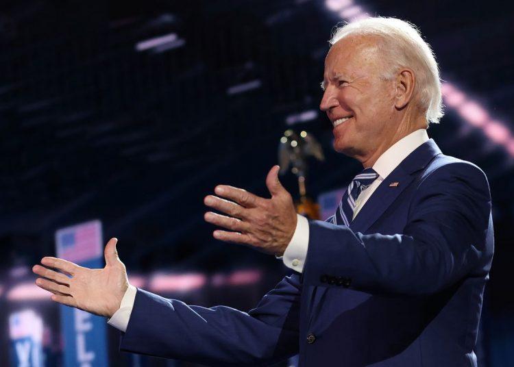 Joe Biden durante la última jornada de la CND. Foto: AP.