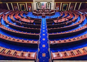 La Cámara de Representantes de Estados Unidos. Foto: Wikipedia Commons.