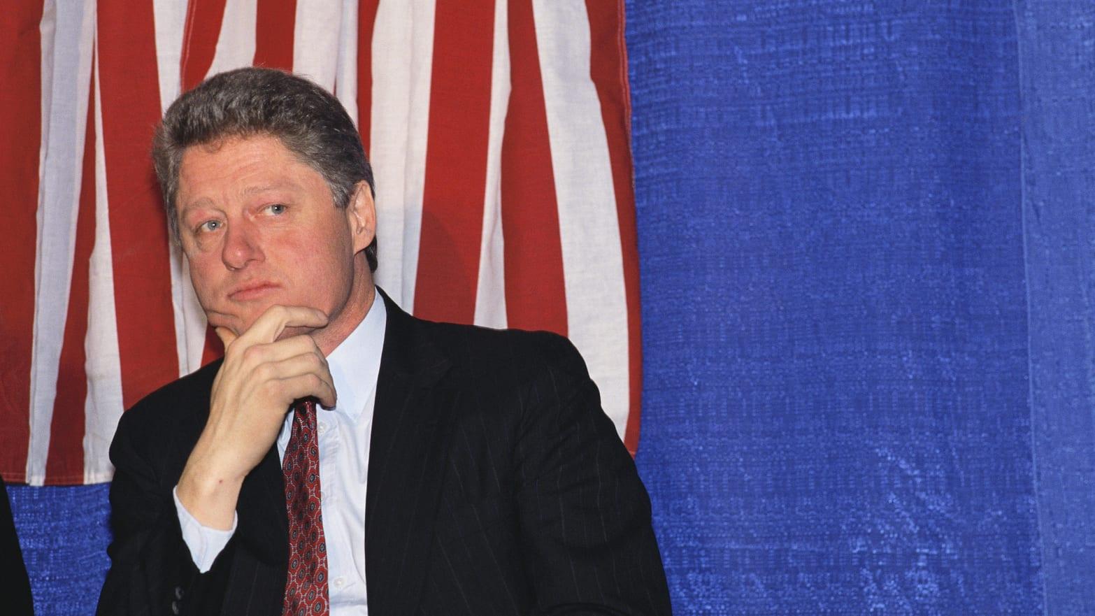 Bill Clinton. Photo: The Daily Beast.
