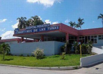Uno de los casos es un niño de tres años. Actualmente está ingresado en el Hospital Pediátrico Mártires de Las Tunas. Foto: periódico26.cu