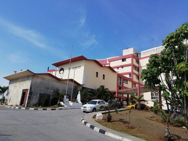 Hospital Julio Trigo, en La Habana. Foto: cubacons.cu