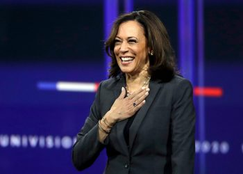 La senadora Kamala Harris. Foto: USA Today.