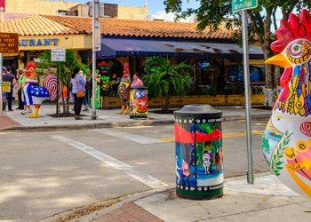 El centro de restauración de la Pequeña Habana. Foto: MDC