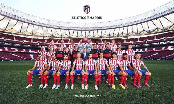 Club Atlético de Madrid. Foto tomada de sus redes sociales.