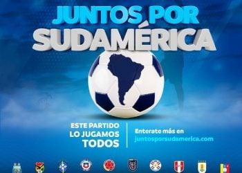 """Imagen de la campaña """"Juntos por Sudamérica"""". Foto: twitter.com/CONMEBOL"""