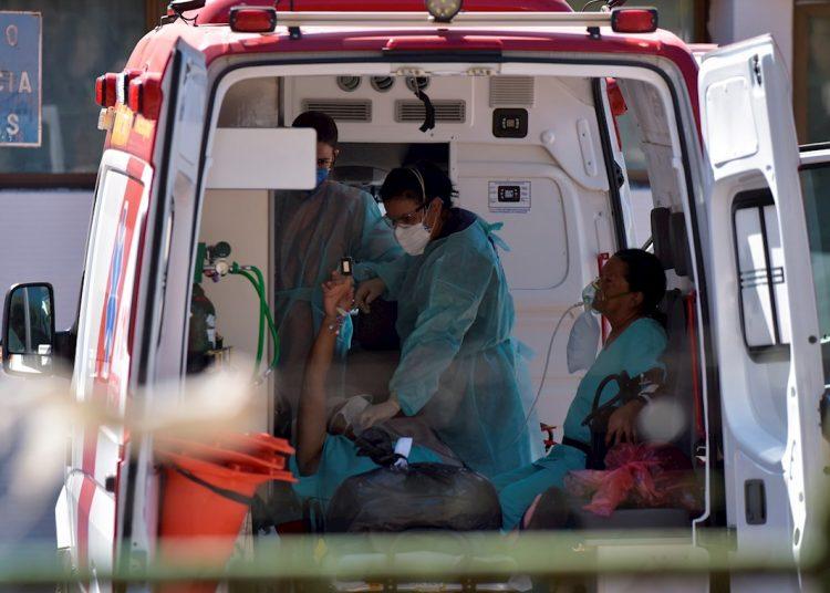 Brasil registró su primer caso de coronavirus el pasado 26 de febrero, precisamente en Sao Paulo. Supuso el primer contagio reportado en Latinoamérica. Foto: Andre Borges/EFE/Archivo