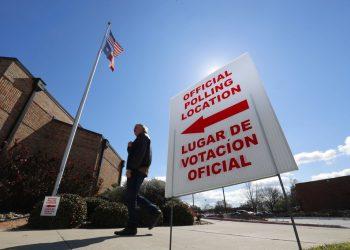 Centro electoral. Foto: LM Otero, Archivo/ AP