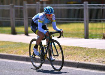 La ciclista cubana Arlenis Sierra, capitana del Astana Women's Team. Foto: Astana Women's Team.