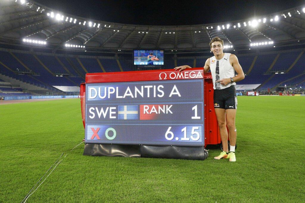 Armand Duplantis rompe marca que estableció Sergey Bubka en 1994