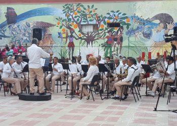 La Banda Provincial de Conciertos de Santiago de Cuba . Foto: ACN.