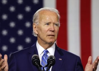 Joe Biden va delante en ambos estados. Foto: The Boston Globe.
