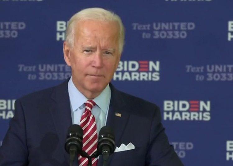 Joe Biden celebrando la herencia y el rol de los hispanos en estas elecciones en Kissimmee, Florida. Foto: Fox News.