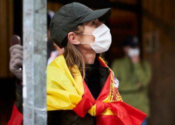En España se diagnosticaron 230 nuevos casos por 100.000 en los últimos catorce días de agosto. Foto: Sky News.