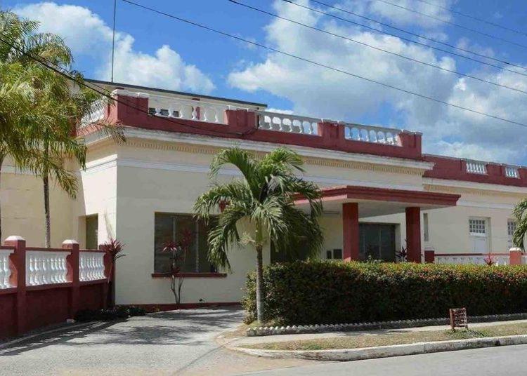 """El hospital militar """"Octavio de la Concepción y de la Pedraja"""", de la ciudad de Camagüey. Foto: ACN."""