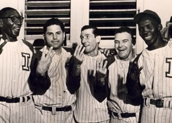 Los Industriales de los primeros años de las Series Nacionales ganaron cuatro coronas seguidas y varios jugadores pusieron en su nombre en varios de esos campeonatos. Foto: Archivo.