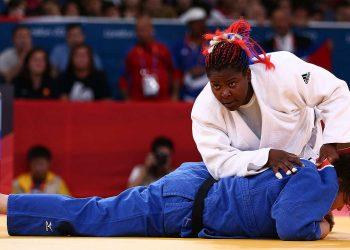 La judoca Idalys Ortiz no ha podido competir en los torneos internacionales de la última semana por ser una de las cuatro atletas cubanas contagiadas con coronavirus. Foto: Getty Images.