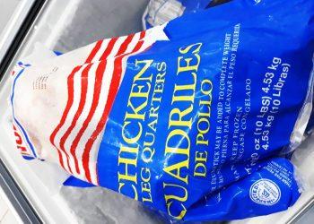 La carne de pollo exportada de los Estados Unidos es uno de los productos más demandados actualmente en Cuba. Foto: estadodesats.com