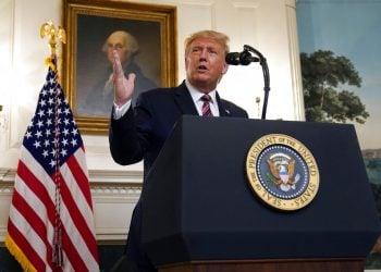 El presidente Donald Trump habla en la Casa Blanca, el miércoles 9 de septiembre de 2020, en Washington. Foto: Evan Vucci/AP.