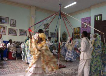 Tumba Francesa La Caridad, de  Santiago de Cuba. Foto: Globe Secret.