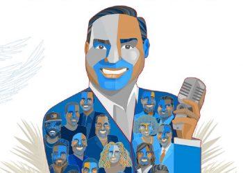 """Tiene una hora y 45 minutos de duración y Santa Rosa escogió para él a un selecto grupo de cantantes puertorriqueños, cubanos y al dominicano José Alberto """"El Canario como compañía."""