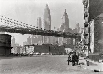 Vista de la ciudad de Nueva York, donde vivió parte de una época fundamental el escritor Francis Scott Fitzgerald. Foto: tomada de pasalavida30.wordpress.com