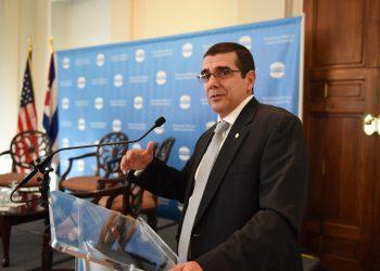 El embajador José Ramón Cabañas. Foto: Meridian International Center.